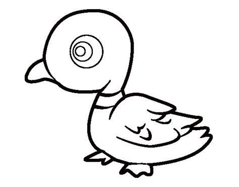 imagenes para colorear un pato dibujo de pato de r 237 o para colorear dibujos net