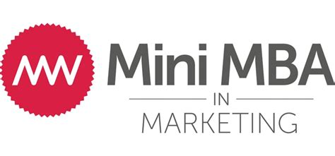 Best Schools For Mba In Marketing by The Marketing Week Mini Mba In Marketing Returns In