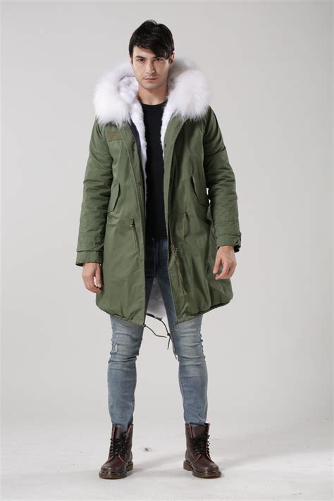 Parka Jaket By Salsabila Colection mens green parka coat jacketin