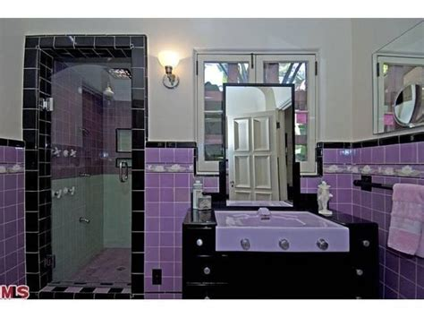 black and purple bathroom 26 best images about retro bathrooms on pinterest