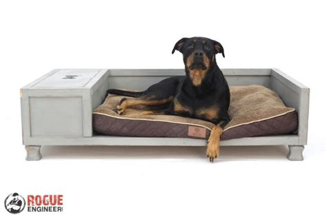 diy dog couch diy large dog bed plans rogue engineer