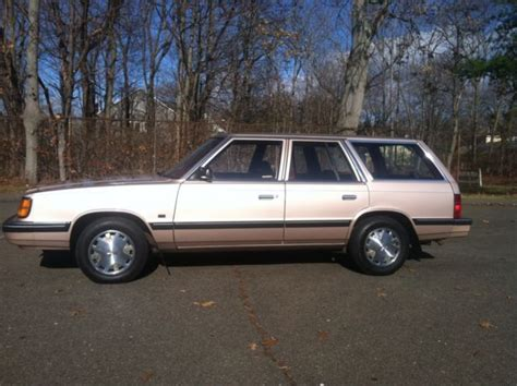 1988 dodge aries k wagon 55k mint car for