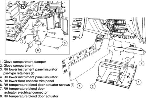 Heater Blend Door Location For  Ford Edge Get Free