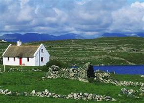 shamrock cottages ireland connemara co galway ireland cottages photograph by the