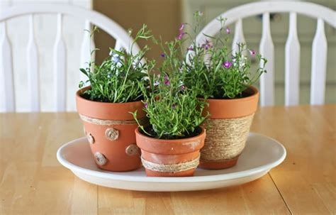 how to jute flower pot decorations make