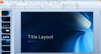 Microsoft Templates For Powerpoint by Free Tunnel Template For Microsoft Powerpoint 2013