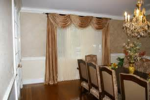 Dining Room Window Curtains Formal Dining Room Window Treatment Traditional Dining