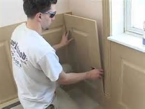 Raised Wainscoting Panels Home Depot - installing wainscoting panels youtube