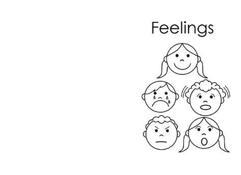 coloring pages emotions printable feelings book login to print kids printables pinterest
