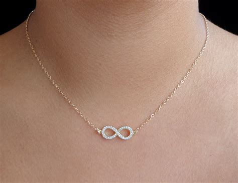 sterling silver infinity necklace kohls necklace