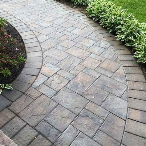 25 best ideas about paver walkway on pinterest backyard pavers front sidewalk ideas and walkway