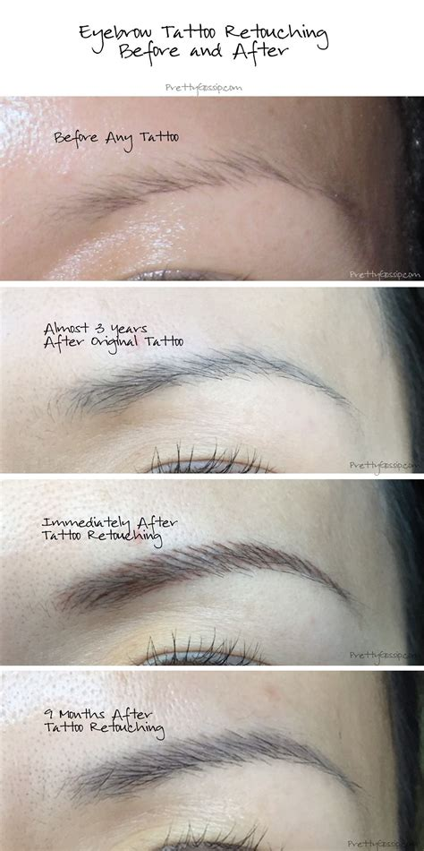 eyebrow tattoo aftercare my eyebrow journey a must read before getting any