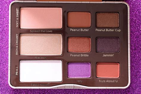 peanut eye the day in beauty vol 5 the too faced peanut butter and