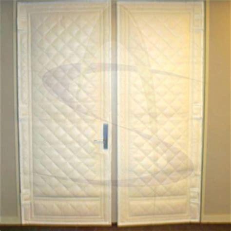 Door Covers by Soundaway Acoustical Door Cover Noise Barrier