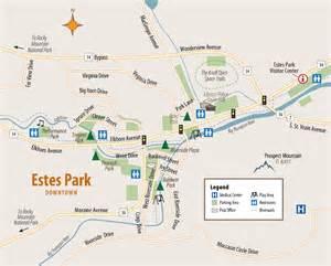 estes park map estes park information