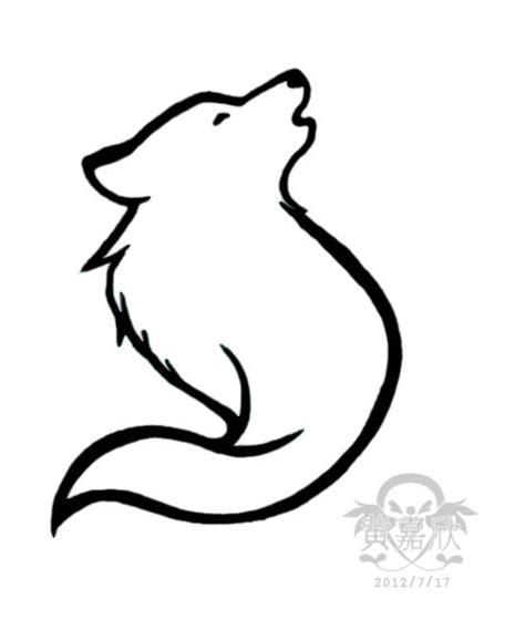 easy tattoo wolf best 25 simple wolf tattoo ideas on pinterest