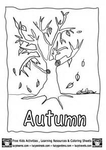 autumn coloring pages autumn colouring pages fall learns http www