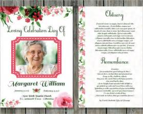 free memorial template printable funeral card templates free word pdf psd