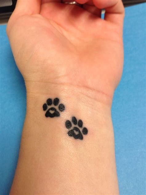 11 six tattoo 11 paw designs paws and