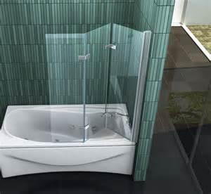 dusch faltwand badewanne vario 130 x 140 badewannen faltwand duschwand