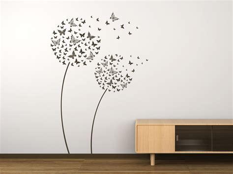 Wandtattoo Kinderzimmer Pusteblume by Wandtattoo Schmetterlingsblumen Als Pusteblume