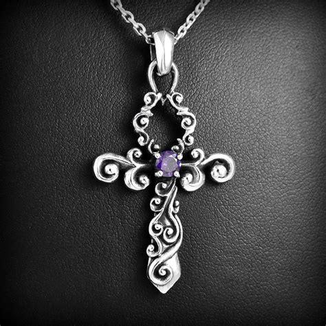 pendentif ankh gothique argent excalibur bijoux
