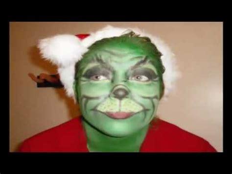grinch makeup tutorial zoella halloween grinch makeup youtube