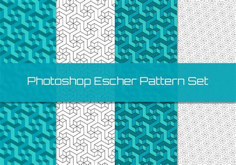 make jpg pattern photoshop geometric escher pattern