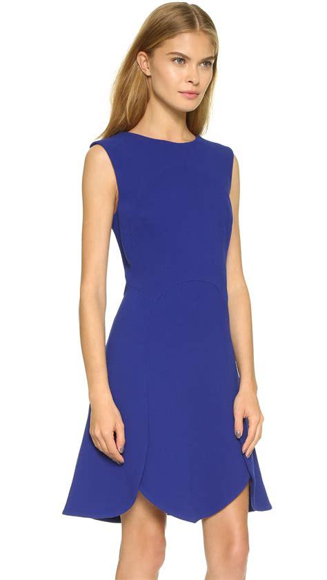 Blue Electric Dress antonio berardi sleeveless dress electric blue in blue