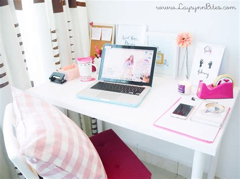 How To Interior Decorate Your Own Home my desk tour 2015 carmen layrynn malaysia beauty