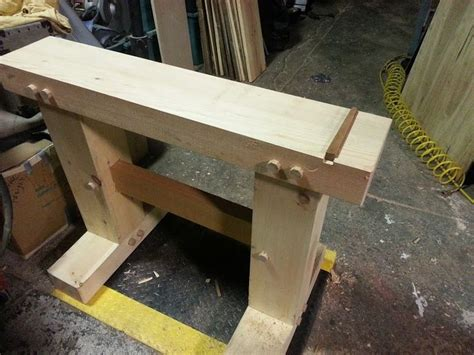 japanese woodworking bench planing beam want one woodworking galoot hand