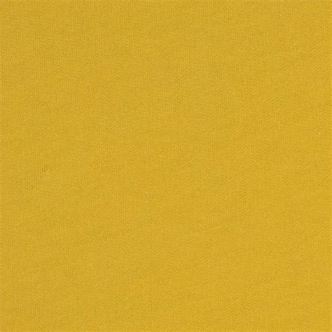 Knit Home Decor by Telio Organic Cotton French Terry Knit Yellow Discount
