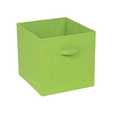 Fabric Cube Drawers by Handy Strorage 330 X 330 X 370mm Clever Cube Lime Green