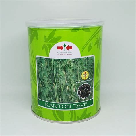Benih Kacang Panjang Berkualitas jual benih kacang panjang kanton tavi 500 gram panah