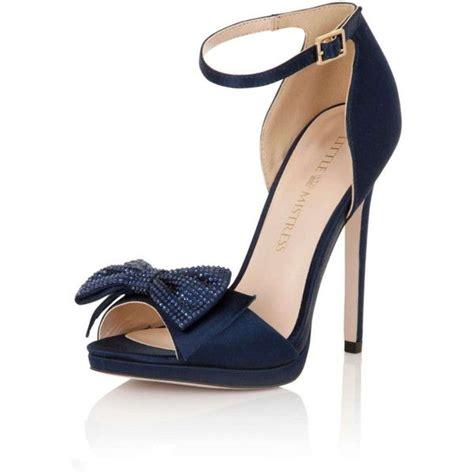 navy blue satin high heels best 25 navy blue high heels ideas on
