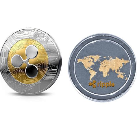 alibaba xrp 2018 new 1pc ripple coin xrp crypto commemorative ripple