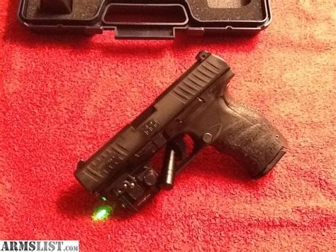 walther ppq laser light armslist for sale trade walther ppq m2 with green laser