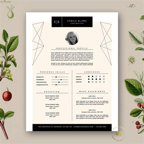 fashion resume templates 25 best ideas about fashion resume on