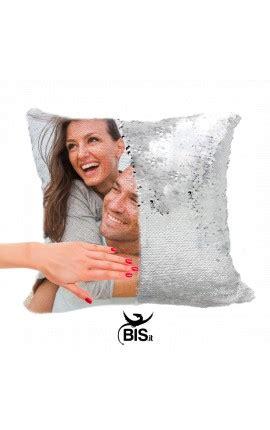 federa cuscino personalizzata federa cuscino paillettes personalizzata con foto