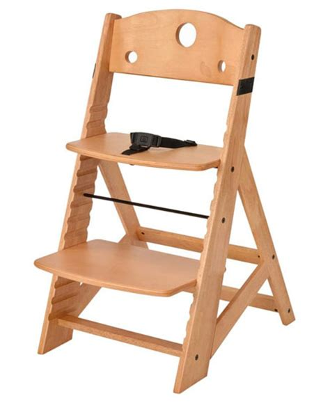 The Keekaroo Natural Height Right High Chair Is A Perfect Child Dining Chair