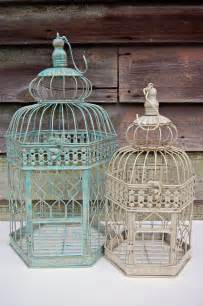 shabby chic rustic home party or diy wedding decor 14 quot bird cage