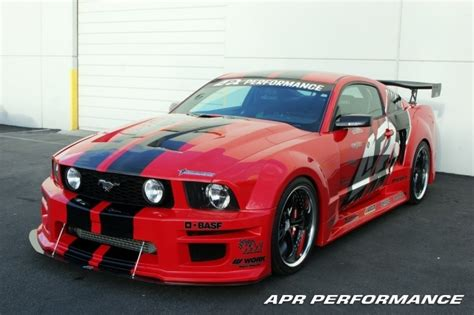 apr wide kit ford mustang shelby gt500 06 09