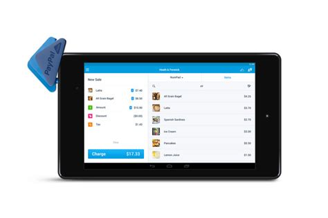 paypal for android paypal here now plays with android tablets android central