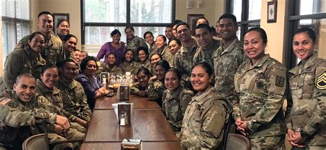 amata visits fort lee  soldiers  american samoa send home christmas