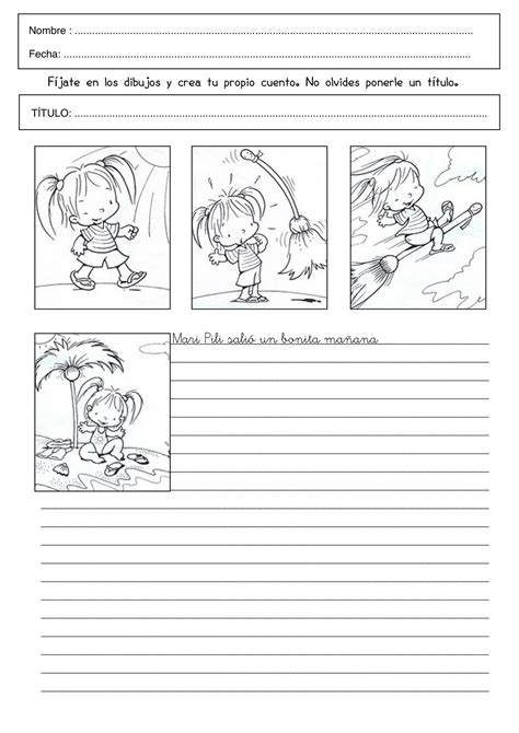 actividad el cuento de memo para primer grado de primaria material lengua fichas de expresi 243 n escrita el rinc 243 n de aprender