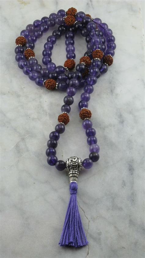 what are mala devotion mala 108 amethyst mala hindu