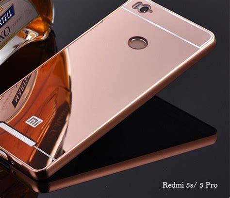X2705 Redmi 3 Pro 3s Casing Premium Hardcase mirror aluminium xiaomi redmi note 2 3s 3 4 pro metal bumper cover mi casing