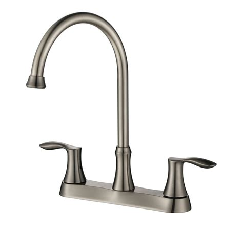 8 centerset two handle kitchen faucet design