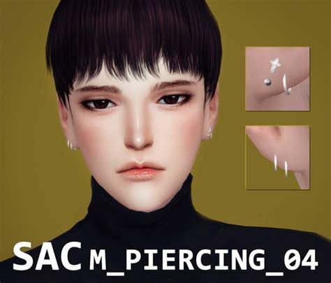 hair 258m sac at may sims 187 sims 4 updates piercing 04 at sac 187 sims 4 updates