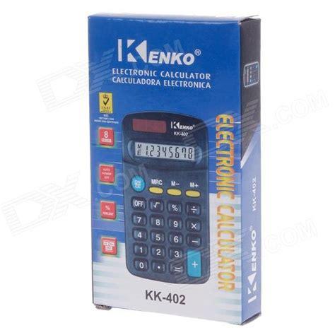 Kenko Kk 402 Kalkulator 1 kenko kk 402 1 6 quot lcd 8 digit calculator black 1 x aa free shipping dealextreme